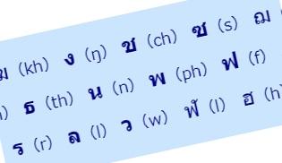 タイ語の声調4低字音の声調ルール
